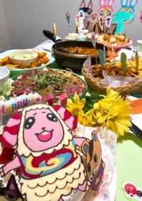 子供の誕生日料理5〜あつもりパーティー