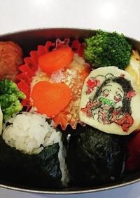 禰豆子とイーブイのお弁当