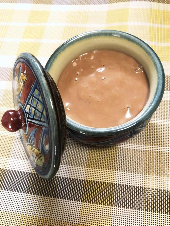 簡単3分☆豆腐で滑らかチョコクリーム