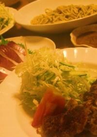 お豆腐とレンコンの和風柚子胡椒ハンバーグ