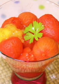 ミニトマトのハニーマリネ
