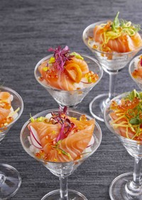 カクテルグラス寿司