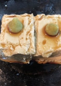 自家製 胡麻豆腐