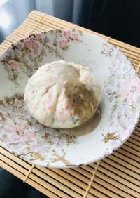 レンジで☆豆腐の茶巾