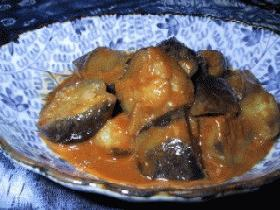 ナスの韓国風簡単煮物