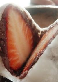 手作りのいちご大福~求肥は白玉粉で!
