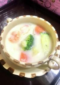 海鮮ミルクスープ 簡単時短