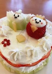 ひな祭りケーキ 離乳食 1歳