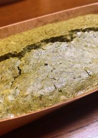 小豆と胡桃の抹茶パウンドケーキ