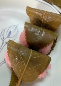 道明寺桜もち20個分レシピ