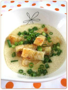 簡単◎台湾風豆乳スープ(鹹豆漿)