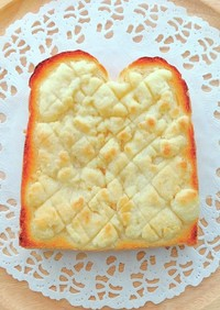 メロンパン風のトースト♪