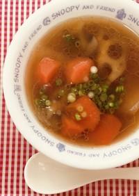 美肌まっしぐら韓国風オックステールスープ