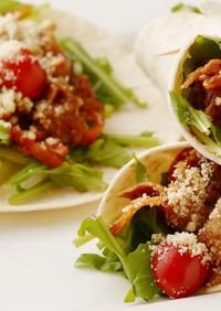 サラダ感覚で食べられる回鍋肉トルティーヤ