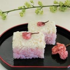鯛そぼろの押し寿司*お花見、おひな祭り