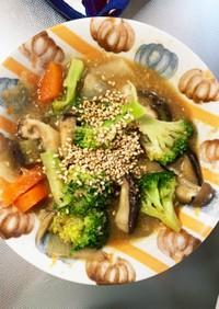 根菜和風ビビンバ味炒め温野菜サラダ
