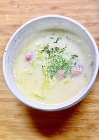 簡単・キャベツのミルクスープ
