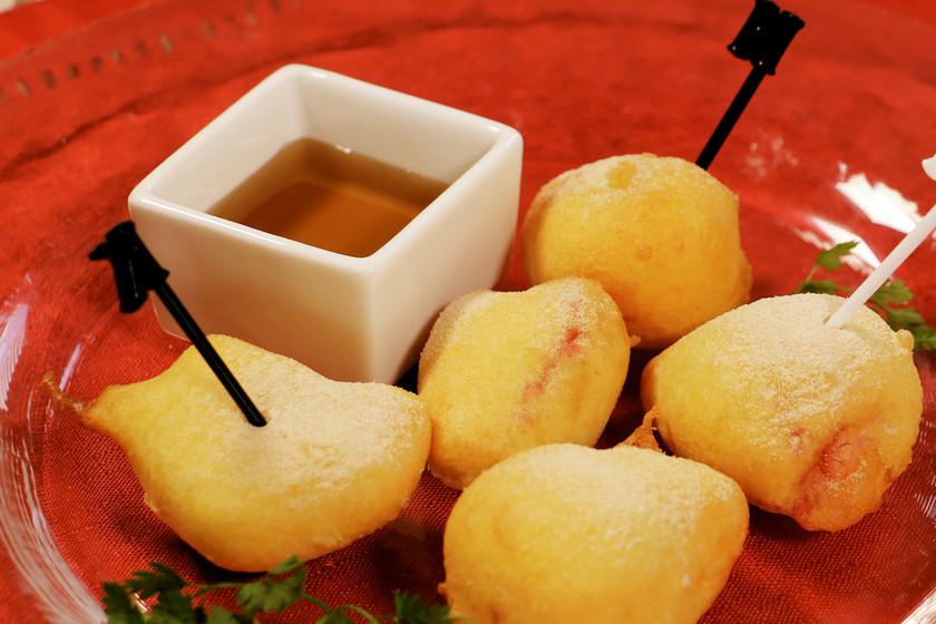 ホットケーキミックスで作るフルーツベニエ