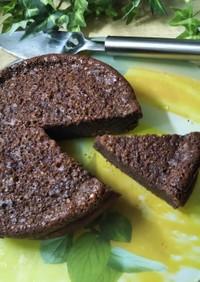 炊飯器のケーキモードでガトー・ショコラ