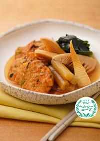 春野菜とがんもの煮物
