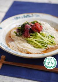 ぶっかけ海藻麺