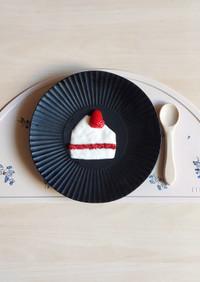 離乳食初期♡材料2つ簡単ケーキプレート