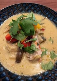 ホットクックで!本格タイ料理トムカーガイ