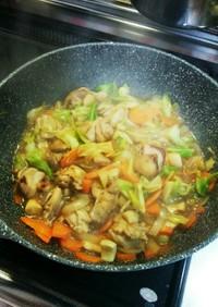 鶏肉とお野菜のウマウマ炒め