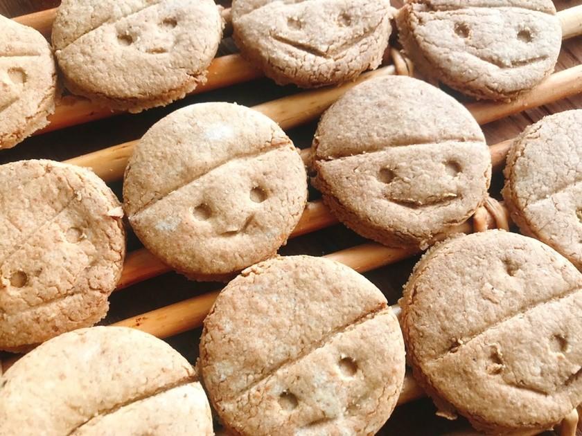 なかしましほさん風クッキー(グラム表記)