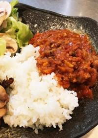 甘口☆サバ缶カレー(鯖トマトソース)