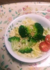 レンジで簡単に!キャベツの温野菜サラダ