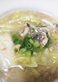 簡単!サバ缶と白菜のトロトロ生姜煮!