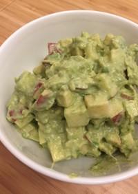 アボカドと林檎の簡単サラダ