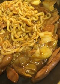 欧風カレーヌードルふう☆プルダック麺