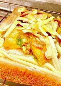 麻婆豆腐トースト!タロの弁当朝食編^_^