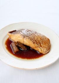 ご飯が進む【魚の煮付け(旨醤油)】鯛煮魚