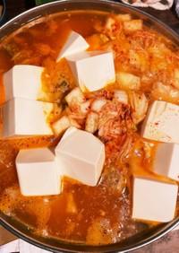 肉団子入り★★キムチ鍋