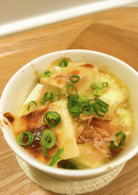 シンプルとろけるチーズの☆お豆腐グラタン