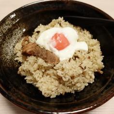 味噌サバ缶の炊き込みご飯
