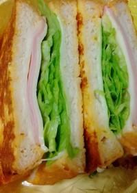 簡単!☆フレンチトーストサンド弁当☆