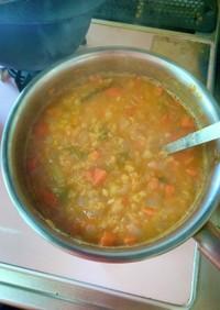 レンティル野菜スープ