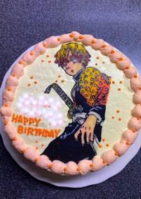 鬼滅の刃 善逸 チョコペンケーキ