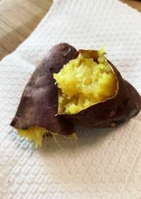 アラジントースターでねっとり焼き芋