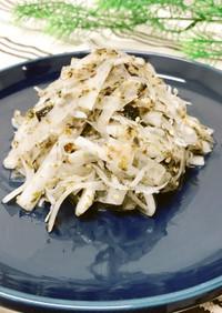 海苔の大根サラダ