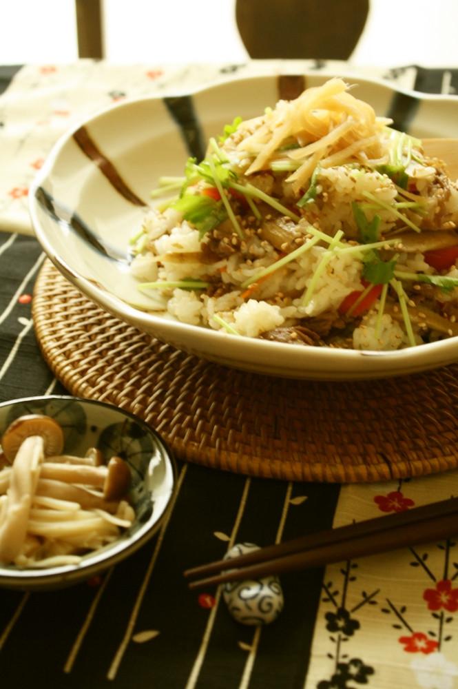 牛肉✿きんぴら寿司