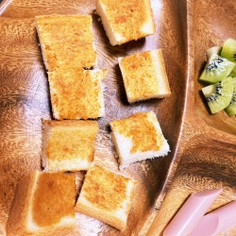 朝食やおやつに♫きな粉トースト