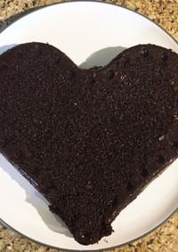 しっとりキヌアチョコレートケーキ
