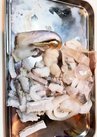 イカの捌き方(加熱調理用)