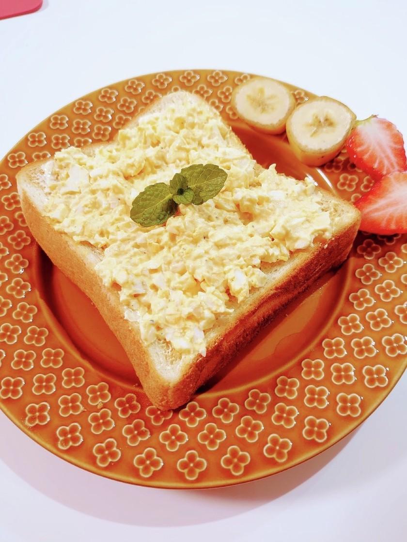 あとのせ卵トースト♪