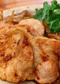 豚の生姜焼き[塩麹&醤油麹&本みりん]